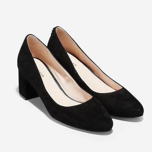 Cole Haan Claudine 55MM Suede Pumps | Size 8